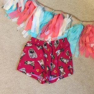 SUPER cute pajama shorts!!